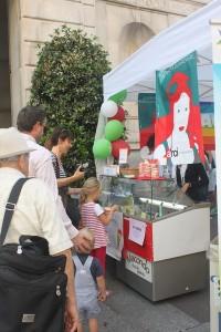 Gelateria Fiocco di panna alla Festa del Volontariato
