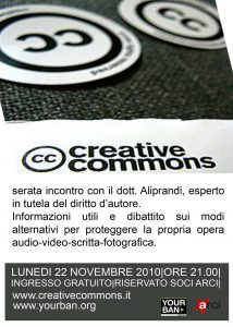 Serata creative commons